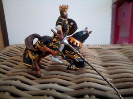 Horse and rider from Papo