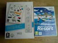 Wii Play in Box/Wii Sports Game