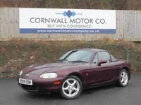 MAZDA MX-5 1.8 ICON 2d 137 BHP GREAT HISTORY + NEW MOT + SERVICE (red) 2000