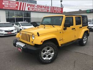 2015 Jeep WRANGLER UNLIMITED Sahara|LOCAL TRADE. IMMACULATE
