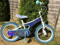 "Bike For Girl Disney Frozen Sisters Forever Wheel 16 Excellent Condition ""OFFER"""