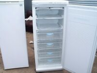 TALL FREEZER ONLY WHITE IN GOOD CLEAN CONDITION CAN ARRANGE DELIVERY LOCAL ONLY