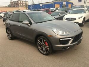 2011 Porsche Cayenne / 500 HP / TURBO / AUTO / FULLY EQUIPPED
