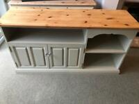 Shabby chic solid Pine Tv Unit /Sideboard