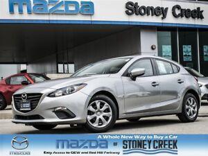 2015 Mazda MAZDA3 SPORT GX AUTO SPORT,A/C,NEW TIRE, ACC FREE, 1