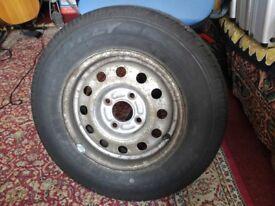 165R13C spare tyre