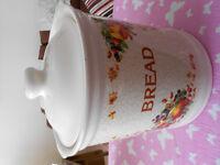 Circular Ceramic Bread Bin