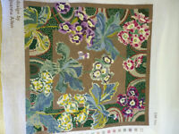 Beautiful tapestry of primulas.