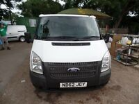 FORD TRANSIT 280 SWB 2012(62) FWD TDCI 100ps 6 SPEED ONE OWNER FULL SERVICE HISTORY **NO VAT**