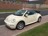 VW Limited Edition Cream Beetle