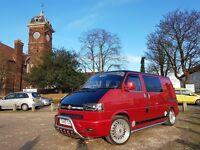 Stunning Volkswagen T4 camper for sale - 1999 1.9td 191k miles.
