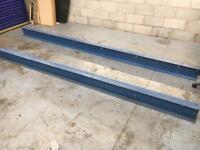 RSJ Steel Reinforcing Steel I Beam 8 x 4 400cm Long,