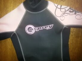 Girl's Osprey Wetsuit (approx age 9 - 13 years)