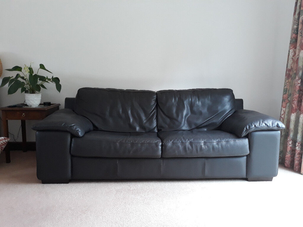 Leather 3 Seater 2 Calia Sofas Immaculate From Pet Free N S