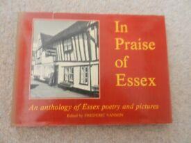 In Praise of Essex Edited by Frederic Vanson Hardback