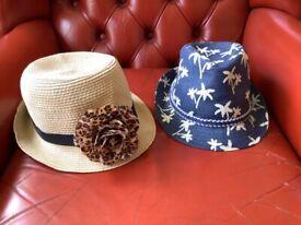2 children's hats -£5 for both