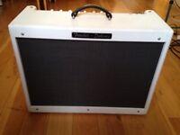 Fender Hotrod Deluxe III limited edition 'White Lightning' white Tolex
