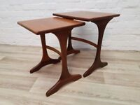 G-plan Nest Of Tables (DELIVERY AVAILABLE FOR THIS ITEM OF FURNITURE)