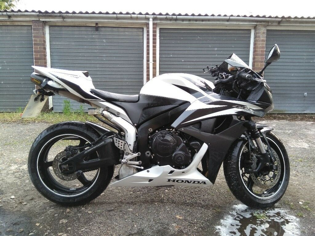 2008 Honda CBR600RR RR-7 Akrapovic exhaust | in Datchet, Berkshire | Gumtree