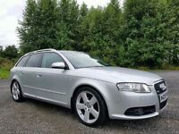 2007 Audi A4 Avant 2.0 TDI S Line, FULL LEATHER! BOSE SOUND! FACTORY XENONS! FSH! FULL YEARS MOT!