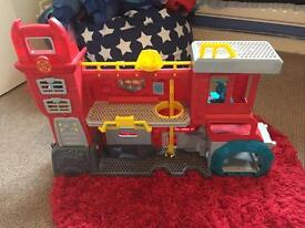 Rescuebots playset
