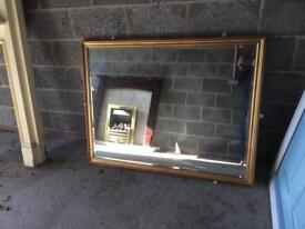 Large mirror in excellent condition £70.