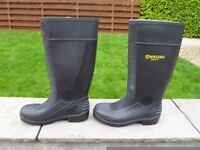 Black Amblers Safety Steel Toe Cap Size Five EU (38) Wellies Brand New Condition
