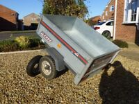 Erde 100 Galvanized Tipping Trailer