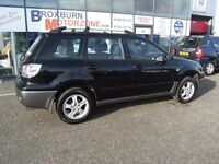 2004 04 MITSUBISHI OUTLANDER 2.4 EQUIPPE 5d 159 BHP **** GUARANTEED FINANCE ****