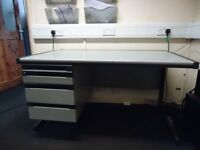 Professional Heavy Duty Office/Workshop Desk in Good Condition