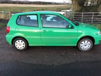1.4 VW Polo. Low miles.
