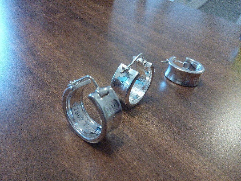 Tiffany 1837 Wide Hoop Earrings