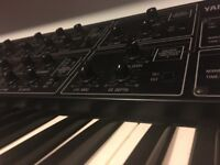 Yamaha CS-15 analogue synthesizer.