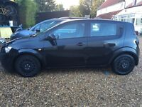 Chevrolet Aveo LS 1.2 12 Rev, black, petrol, 62000 miles