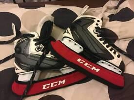 Ccm ribcor 44k ice skates ice boots