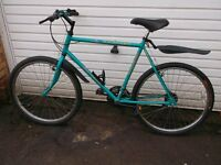 vintage classic gents raleigh ascender fully working, (£60 no offers)