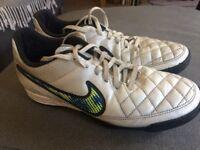 Nike tiempo - Astro trainers (size 8)