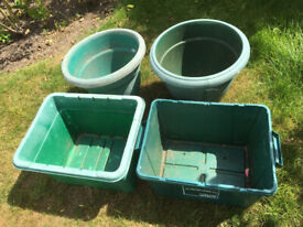 Assortment of pots & planters