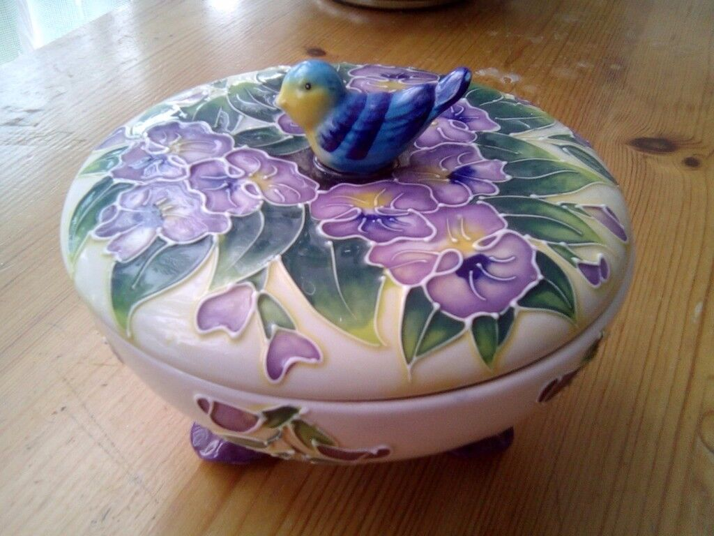 A lovely Bird dish,with lid