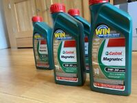 Castrol magnatec 5W-30 A3/B4 fully synthetic engine oil
