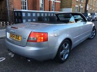 AUDI A4 2.4 CONVERTIBLE = £1990 ONLY =