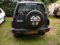 suzki vitara jx 5door 4wd 1590cc petrol injection estate