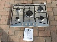 Stainless steel hob