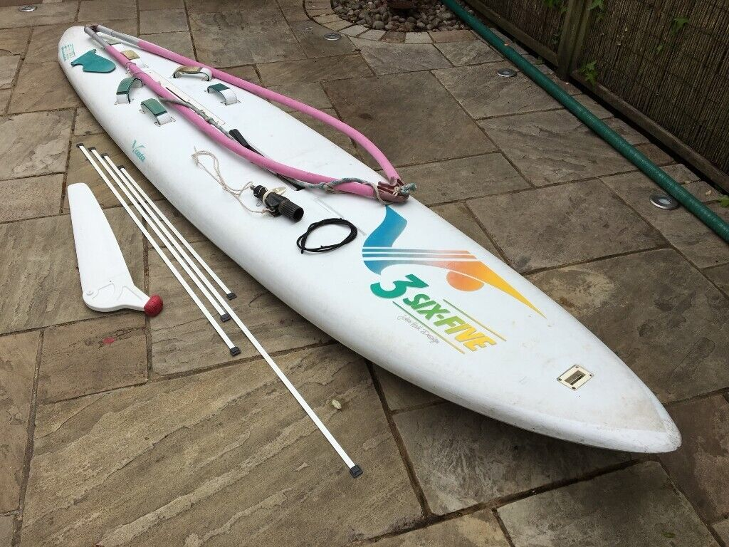 Vinta 3 six five windsurf board and Hot Wave sail  All kit works