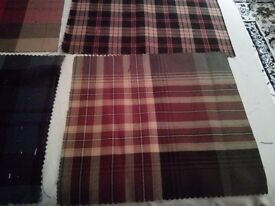 Tartan Craft Scrapbooking Samples X 9