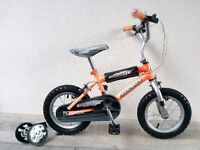 "(2174) 12"" MAGNA Boys Girls Kids Childs Bike Bicycle + STABILISERS; Age: 2-4; Height: 85-100 cm"