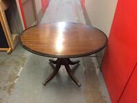 Mahogany fold away table, Free delivery