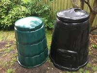 Two compost bins free to collector