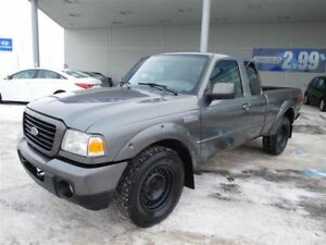 2008 Ford Ranger SPORT,4X4,A/C,MAGS,HITCH,1-2-3 CHANCES AU CRÉDI