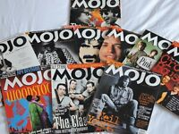 Mojo Magazine Collection - From first issue to 2016.